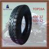 450-12, 500-12 qualité, nylon de la chambre à air 6pr de longue vie, pneu de moto