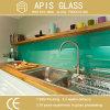 Respingo de vidro calcinado cerâmico colorido RoHS-Complacente para trás Worktop da cozinha da impressão de vidro