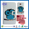 C&T Luxury Owl Design Wallet PU Leather Stand Flip Case for LG L90 Slim Cover