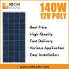energia solare policristallina del comitato solare di 140W 12V