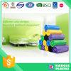 Sacos de lixo plásticos impressos costume coloridos do PE