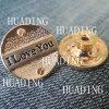 Кнопка хвостовика металла высокосортного уникально сплава материальная одежды (HD1104-15)
