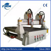 Router principal dobro do CNC do Woodworking do eixo