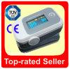 Oxímetro da exposição da ponta do dedo OLED com ajuste de alarme e som do sinal acústico