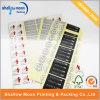 De aangepaste Zelfklevende Sticker van het Document van de Druk pvc (QYCI002)