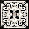 Azulejo Waterjet del suelo del modelo de mármol blanco y negro del nuevo diseño