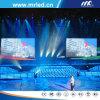 2015년 심천 LED 단계 스크린 P10.4mm 실내 LED 망사형 화면 전시 ISO9001