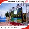 Della fase impermeabile esterna video LED schermo pieno locativo di colore P10