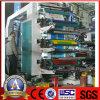 De meest professionele Computergestuurde Machine van de Druk van Flexo van Hoge snelheid 6 Olors