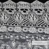 レース、衣服のアクセサリのレースのかぎ針編みによって編まれる綿織物のレース、L318