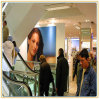 Коробка украшения стены большого формата 120*240cm светлая с изображением ткани