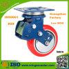 Schlag Absorption PU Swivel Caster Wheel für Transport Dolly