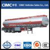 Cimc 40000 litros de aluminio de la aleación de acoplado de gasolina y aceite del tanque