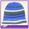 Casquillo y sombrero calientes de la gorrita tejida del estilo del invierno americano de la marca de fábrica con la raya