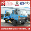 Dongfeng 145のガーベージの輸送手段の油圧装置の振動アームごみ収集車