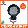 Luz del coche de la forma redonda LED, luz del carro de 10W LED 4X4, piezas autos de conducción campo a través de la iluminación del faro del LED