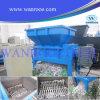 Máquina gemela de la trituradora de residuos del árbol del eje