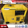 C.A. Output Silent Diesel Generator de 5kw 6kVA Single Phase