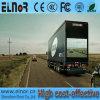 Tela móvel ao ar livre elevada impermeável do diodo emissor de luz do caminhão do brilho P10