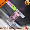 Bouteille ronde USB lumineux (YT-3270-08L) de cadeaux en cristal exceptionnels de promotion