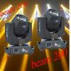 Prcie 대중적인 적당한 Sharpy 5r 200W 광속 가벼운 이동하는 맨 위 단계 빛