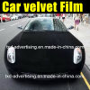 Car nero Velvet Wrap Film con Air Free Bubbles
