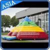 Castelo Bouncy do disco inflável ao ar livre da pirâmide