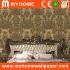 Papier peint profondément de relief de PVC pour la décoration à la maison