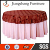 Polyester Fabric Round Banquet Table Cloth (JC-ZB59)