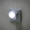 Lâmpada de parede energy-saving inovativa leve de passeio do quarto da noite do sensor
