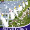 Chaise en plastique se pliante blanche de Wimbledon pour le mariage