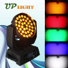 36*18W RGBWA+UV 6in1の洗浄LEDズームレンズDJはつく