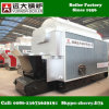 Chaudière à vapeur de tube d'incendie horizontal de la Chine pour l'industrie de transformation de textile