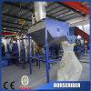 Botella tejida película del bolso del PE de los PP que machaca lavarse reciclando la máquina