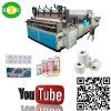 Equipamento pequeno da máquina do papel higiénico do auto rolamento de alta velocidade