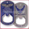 Kundenspezifische US-Luftwaffen-Militärmetallflaschen-Öffner-Münze