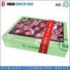 Color Printing Quality Fruit Peach Fils main Boîtes d'emballage cadeaux Carton Fabricant gros 10-12 Jins