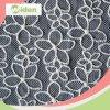 Da tela frisada do laço de Tulle do projeto da flor tela africana do laço