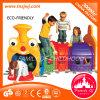 Kinder die Gleiskettenfahrzeug-Bohrloch-Plastikspielwaren