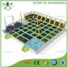 China de fábrica grande del precio del trampolín de interior Cama para el parque de atracciones