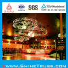 Round di alluminio Circle Lighting Truss per Hanging Palmer Lamp