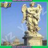 Statue de marbre normale d'ange de jardin
