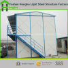 Casa móvil ensamblada fácil de la casa prefabricada con el panel de emparedado