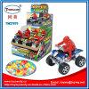 Juguete con errores del coche del juguete del cabrito del coche de la playa con el caramelo
