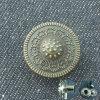 コートのための新しい金属型の黄銅のスナップボタン