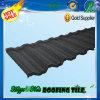 Azulejo de azotea de piedra clásico negro en cinc del metal