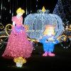 Navidad con motivos de luz LED blanco como la nieve de la princesa