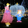 Weihnachten LED-Motiv-Licht Snow White Princess