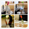 Vase en cristal en verre de métier à décoration de qualité à la maison de vase