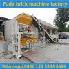 Máquina semiautomática da máquina do tijolo do cimento/Pav